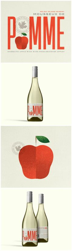 Label Design and Illustration for Winery's First Ever Sparkling Apple Cider Design Agency: Zoca Project Name: Pelee Island Winery Location: Canada Market Country: Multiple Countries Category: #wine #drinks World Brand & Packaging Design Society