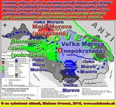 Mapa povodia Dunaja, ktorá ukazuje, aké malé je povodie českej rieky Morava oproti povodiu Tisy. Ak Purpurorodenec myslel Veľkou Moravou celé VEĽKÉ povodie Tisy, tak je názov Veľkej Moravy odvodený od veľkosti územia. Ak mal na mysli územie okolo rieky Velikej Moravy v Srbsku, tak sa Veľká Morava volala podľa rieky. Ak mal cisár na mysli pod VEĽKOSŤOU vzdialenosť od centra ríše, tak Veľká Morava znamená vzdialená, nie však vzdialená od Konštantínopolu (Carihradu), ale od centra Slovenskej…