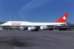 Swissair Boeing 747-357 Airbus A380, Boeing 747, National Airlines, Passenger Aircraft, Commercial Aircraft, Civil Aviation, Budget Travel, Airplane, Planes