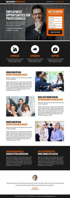 domestic help, pest control and employment opportunity landing page design templates on affordable price from https://www.buylandingpagedesign.com/