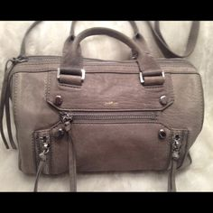 EUC Genuine Leather BOTKIER Satchel Comes with a long strap. Could be carried as satchel or shoulder bag. Clean liner. Really faint scratches on the leather. Measures 8x12.5 Botkier Bags Satchels