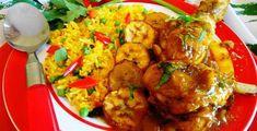 Surinaams eten – Masoesa Drumsticks met Moksie Alesie (speciaal gestoofde drumsticks met gele rijst)