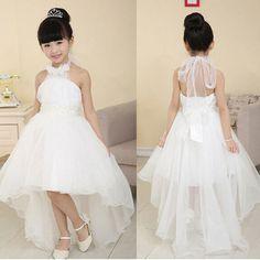 imagenes de vestidos de damitas para boda cortos