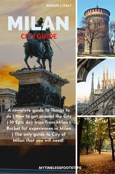 Summer Destinations Europe, Europe Travel Guide, Italy Travel, Milan Travel, Milan City, European City Breaks, Best Ski Resorts, European Travel, Travel Inspiration