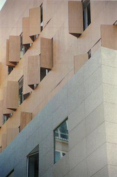 Ampliación Rectorado de la Universidad Vigo 1999