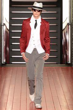 John Varvatos - Spring 2013 Menswear - Look 26 of 34