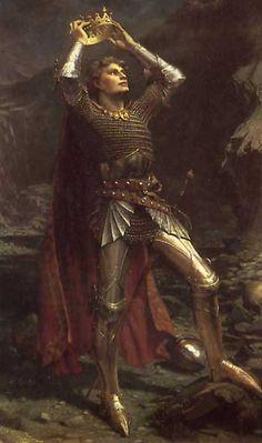 King Arthur by Charles Ernest Butler