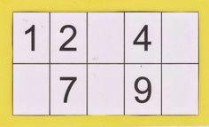7 bingo de números