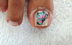 Summer Toe Nails, Pedicure Nails, Turquoise, Toenails, Gowns, Toe Nail Art, Simple Toe Nails, Summer Nails, Summer Toenails