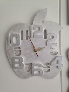 Reloj de pared estilo vintage by jannie jipleo