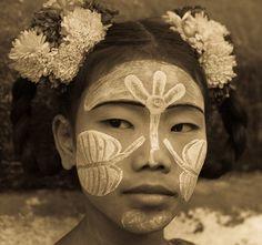 The beauty of Burmese people