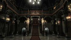 Resident evil mansion 4k render by Bowu.deviantart.com on @DeviantArt
