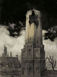 The Wall of the Castle,Santiago Caruso.