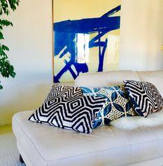 hand loomed silk velvet ikat pillows limited edition #pillows #homedecor #interiordesign #silkvelvet #ikat