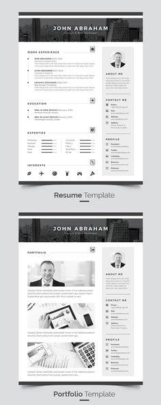 Resume/CV \u2014 Vector EPS #clean #light \u2022 Available here →