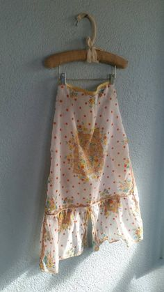 Check out this item in my Etsy shop https://www.etsy.com/listing/212744978/delicate-floral-adorned-vintage-apron