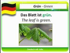 Learn German Colours (01) - Farben in Deutsch - Deutsch mit Julia - German for Beginners