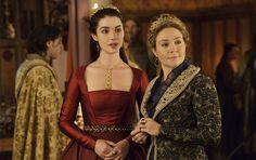 Rainha Mary Stuart e Rainha Catherine de Medici