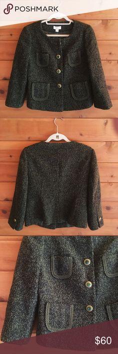 *NEW* LOFT blazer 10P 72% Wool/20% Nylon/8% Polyester in perfect condition! Never worn! LOFT Jackets & Coats Blazers
