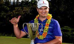Vô địch tại Hyundai TOC 2014 là khởi đầu quá tốt cho Zach Johnson. Ảnh: PGA Tour