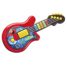 Playskool Sesame Street Elmo Guitar Toy | eBay