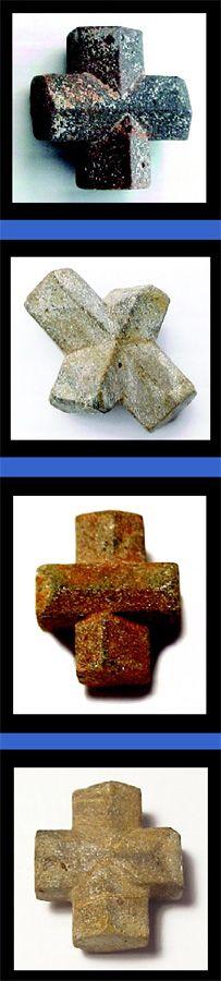 "Staurolite Crystals : Found in Patrick County, Virginia : My favorite ""Power"" Stone!"