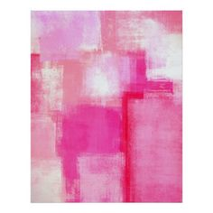 Shop 'Running Late' Pink Abstract Art Poster Print created by Personalize it with photos & text or purchase as is! Painting Prints, Canvas Prints, Art Prints, Paintings, Painting Canvas, Canvas Art, Pink Abstract, Abstract Art, Canvas Frame