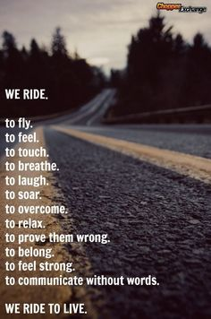 The place to Buy or Sell new & used Harley-Davidson and other American motorcycles. Over Harley-Davidson motorcycles for sale. Dirt Bike Quotes, Motorcycle Quotes, Motorcycle Outfit, Motorcycle Men, Futuristic Motorcycle, Ride Or Die, My Ride, Riding Quotes, Biker Quotes