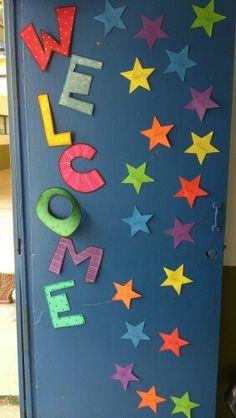 Puerta de salon de clase