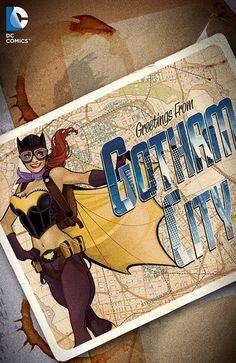 Batgirl - New 52 Bombshell variant.
