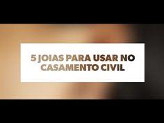 5 Joias Para Usar no Casamento Civil - Prata Fina - YouTube