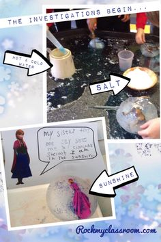 Rock My Classroom – Irresistible early Years ideas for your indoor and outdoor provision…. Frozen Activities, Planets Activities, Eyfs Activities, Winter Activities, Science Activities, Activities For Kids, Snow And Ice, Fire And Ice, Frozen Classroom