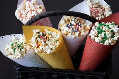 Gourmet popcorn seasoning - 20 spice blends, flavored salts for popped corn kernels - gift set for popcorn fans - by Dell Cove Spices
