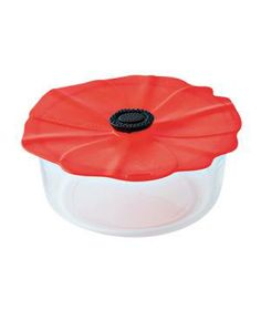 Charles Viancin Poppy Silicone Lid: Never hunt for the matching top again. Place this floppy lid over any bowl or pot and it instantly creates a tight vacuum seal.