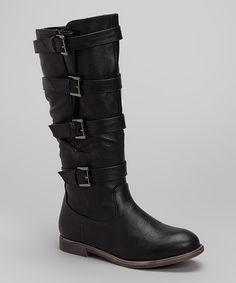 Take a look at this Black Ryder Boot on zulily today!