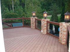 Trex deck-with some brick