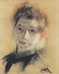 :: Paula Modersohn-Becker, 'Self-Portrait', 1897 [#01]