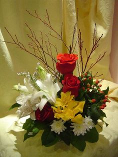 A flower arrangement called Casino