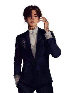Bigbang 497577458826636894 - exo, baekhyun, and monster image Source by Kpop Exo, Sehun, Baekhyun Fanart, Fanart Bts, Chanbaek Fanart, Baekyeol, Bigbang, Exo Anime, Anime Art