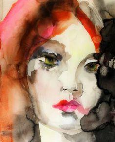 "Saatchi Art Artist Lisa Krannichfeld; Painting, ""SOLD We're the Same Kind of Animal"" #art"