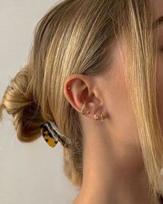 Ear Jewelry, Dainty Jewelry, Cute Jewelry, Women Jewelry, Jewlery, Cute Ear Piercings, Multiple Ear Piercings, Tongue Piercings, Cartilage Piercings