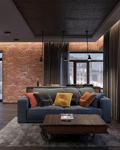 Interior Design Career - Should You Go For Design Firms Or Self Employment? Interior Design Career, Interior Decorating Styles, Interior Designing, Diy Decorating, Apartment Interior, Apartment Design, Home Room Design, Living Room Designs, Brick Interior