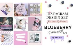 Instagram templates set