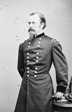 James H. Wilson became one of the few Union commanders to defeat Confederate cavalier Nathan Bedford Forrest in battle - at the Battle of Franklin in November 1864 and again during his raid through Alabama and Georgia in March and April General Lee, Major General, Abraham Lincoln, Mississippi, Family History Book, History Books, James Harrison, Jackson, Union Army