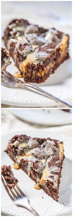 Gooey Chocolate Peanut Butter Bars Recipe