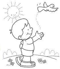 Resultado de imagen para imagen para colorear de niños