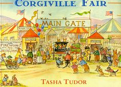 CORGIVILLE FAIR. Tudor, Tasha : Cellar Door Books - The World of Tasha Tudor