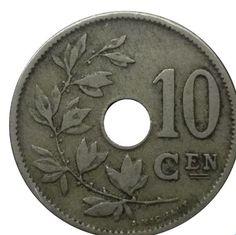 Belgium 10 Centimes Coins Belgique Belgian