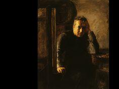 Susan MacDowell Eakins, Portrait of Thomas Eakins, c. 1899