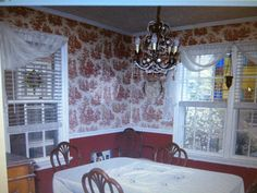 Dining room before pics